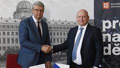 Stát podepsal smlouvu s ČEZ: Další krok k projektu nového reaktoru