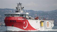 Turecko přeruší podmořský průzkum, který naštval Řeky. Erdogan chce uvolnit napětí