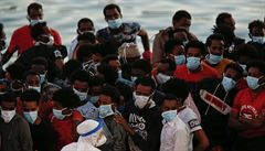 Z 94 migrantů zachráněných u Malty jich 65 má koronavirus. Jde o největší ohnisko na ostrově