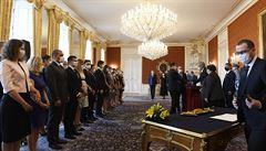 Prezident Zeman jmenoval na Hradě 33 nových soudců, z toho 20 žen