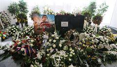 Hokejové slzy. Rodina i spoluhráči se rozloučili s Ondřejem Buchtelou, který zemřel na rakovinu srdce