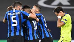 Inter Milán přežil penaltu Getafe a v Evropské lize se štěstím postoupil do čtvrtfinále