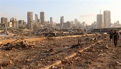 Mohutné exploze zničily část Bejrútu, nejméně 135 mrtvých a 5000 zraněných. Mluví se o nehodě při sváření skladu