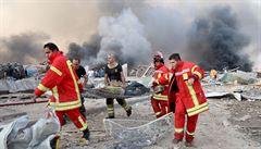 Česko vyšle do Bejrútu speciální tým na záchranu lidí z trosek. Odletí ve středu odpoledne