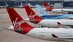 Britské aerolinky Virgin Altantic v USA vyhlásily bankrot