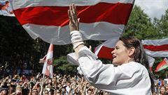 Cichanouská očekává od EU solidaritu, Bratislava je připravená stát při běloruském lidu