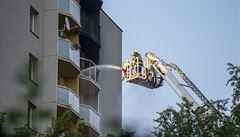 Požár ve výšce přináší řadu komplikací. Hasičský expert radí, jak zvolit úkryt a čím zvýšit šanci na záchranu