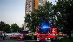 Za tragickým požárem v Bohumíně má být partnerská msta. Útočník polil dveře bytu hořlavinou