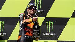 Salačovi se v Brně nedařilo ani napotřetí a nebodoval, MotoGP má nečekaného vítěze