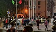 Prezidentské volby v Bělorusku vyhrál Lukašenko. Tisíce lidí vyšly do ulic, policie tvrdě zasahuje