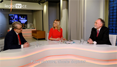 legalTV.cz: Nezávislí státní zástupci nesmí existovat, říkají Právníci roku Ritter a Šťastný