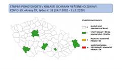 Semafor označil devět rizikovějších oblastí. Velká ohniska jsou Praha a Moravskoslezský kraj, uvedla Rážová