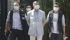 Soud udělil další trest hongkongskému aktivistovi Jimmymu Laiovi. Za vedení protestů si má odpykat 14 měsíců