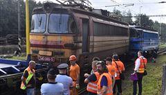 Na nádraží v Jihlavě se srazil nákladní vlak s lokomotivou. Nikdo se nezranil, škoda je přes 7 milionů korun