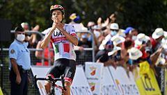 Formolo kraloval po dlouhé sólojízdě. Dauphiné dál vede Roglič před Pinotem