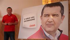 V krizi vás ochráníme, zní slogan kampaně ČSSD. Tématem je práce či důstojné mzdy