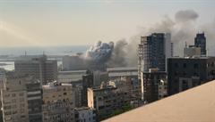 VIDEO: Nahrávky ukazují nový pohled na výbuch v Bejrútu. Jsou zachycené v HD kvalitě i potápěčem