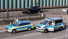 Nehody na dálnici v Berlíně byly zřejmě islamistickým útokem. Iráčan záměr naznačil na Facebooku