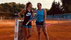 Šafářová pomáhá kamarádce. Jako trenérka bych pár turnajů asi zvládla, přemítá