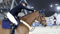 Kellnerová pojede v Praze s klisnou za čtvrt miliardy, chce pro ni vybojovat olympiádu