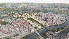 V Praze kolem Vltavy vyrostou nové čtvrti, Karlín a Holešovice spojí lávka. Podívejte se na chystané projekty