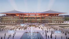 Studio Zaha Hadid Architects postaví v Číně fotbalový stadion pro 60 tisíc lidí