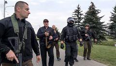 Lukašenko požádal Putina o vytvoření záložních policejních sil. Ruský prezident mu vyhověl