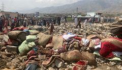 Bleskové povodně v afghánské provincii Núristán mají podle Tálibánu 150 obětí