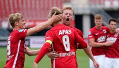 Plzni utekla šance na Ligu mistrů v posledních sekundách, v prodloužení Viktorii dorazil Gudmundsson