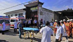 Počet obětí po zřícení budovy s restaurací v Číně vzrostl na 29, příčina zhroucení není známa