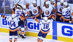 New York v NHL porazil Washington a postoupil do semifinále Východní konference. Vrána nebodoval