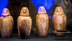 OBRAZEM: Splněný sen českých egyptologů. Národní muzeum zaplnily unikátní artefakty od Nilu