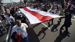 Osobnosti vyzývají EU k sankcím a dalším krokům kvůli represím proti demonstrantům v Bělorusku