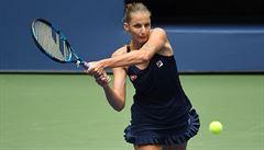 Plíšková na US Open porazila Kalininovou, Kvitová postup do 2. kola vybojovala za hodinu