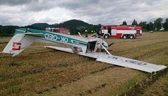 V Liberci se samovolně rozjelo letadlo. Narazilo do plotu a způsobilo škodu za 2 miliony korun