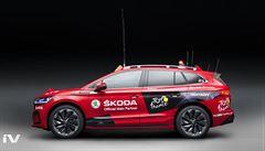 Elektromobil Škoda ENYAQ iV doprovodí cyklisty na slavné Tour de France, ředitele závodu poveze ve třech etapách