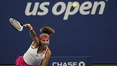 Muchová vyřadila Venus Williamsovou. Dalším Čechům se na US Open nedařilo