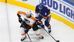 Philadephia díky asistenci Voráčka porazila New York Islanders. Vyrovnala stav série 2. kola play off NHL
