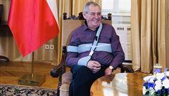 MACHALICKÁ: Hradní bolševická rétorika. Zeman kráčí ve šlépějích Klause