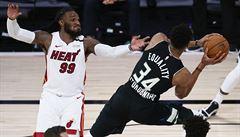 Basketbalisté Milwaukee odvrátili konec. I bez zraněného Adetokunba snížili sérii s Miami