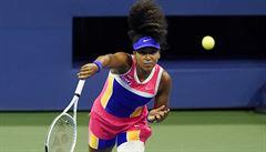 Skvěle servírující Ósakaová z Japonska prošla do čtvrtfinále US Open