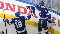 NHL: Palát se podílel gólem na výhře Tampy Bay nad Islanders 8:2
