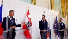 Česko, Rakousko a Slovensko se nechystají vzájemně omezit cestování. Babiš má příslib od premiérů