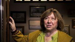 Nobelistka Alexijevičová odletěla z Běloruska jako poslední z koordinační rady opozice