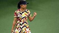 Muguruzaová postoupila do 2. kola tenisového US Open, dál jde i Kuzněcov