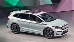 Elektrická Škoda Enyaq přijde na trh 13. května, říká šéf automobilky. Zájem prý předčil očekávání