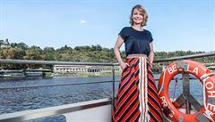 Bojujete o každý centimetr, popisuje architektka Vera Hampl stavbu první lodi na baterky v Evropě