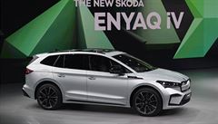 Škoda zahájila prodej elektrického SUV Enyaq iV. Cena začíná na víc než milionu korun