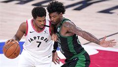 Basketbalisté Bostonu vyřadili v NBA obhájce titulu z Toronta, Celtic vylepšili rekord soutěže