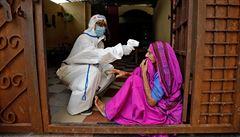Indie má znovu rekordní přírůstek koronavirové infekce, Německo má podobně případů jako Česko
